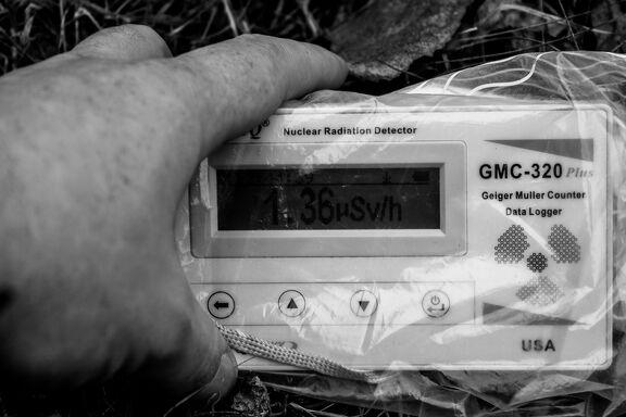 -- Radiation ☢ : 1.37 µS/h